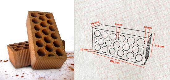 Cemesa - Ladrillo ceramico perforado ...